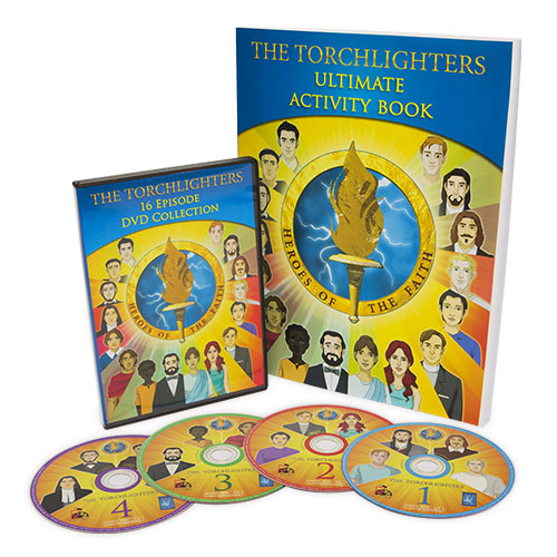 Torchlighters Activity Book & 16-Episode Set
